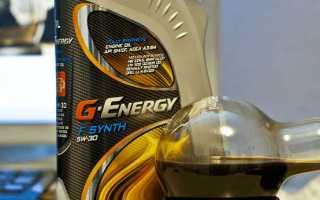 Обзор масла g-energy far east 5w-30