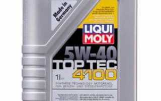 Как выбрать масло liqui moly 5w-40