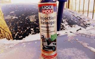 Очиститель инжектора injection cleaner от liqui moly