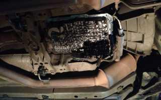 Замена масла в акпп форд эксплорер