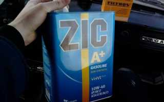 Обзор масла zic x7 diesel 5w-30