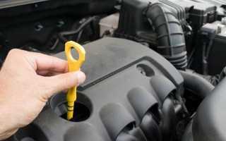 Пошаговая инструкция по проверке уровня моторного масла