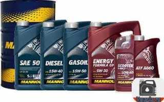 Описание моторного масла mannol energy formula jp 5w-30