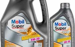 Масло mobil super 3000 x1 formula fe 5w30