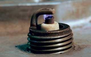 Зазор между электродами свечей зажигания и его регулировка