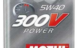Масло motul 300v power 5w40