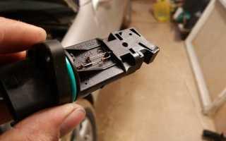 Очиститель дмрв liqui moly luftmassensensor-reiniger