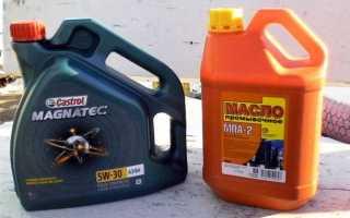 Как промыть мотор соляркой перед заменой масла в двигателе