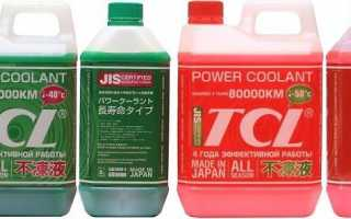 Антифризы tcl: японская защита от российских морозов